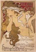 Salon des Cent (Alfons Mucha) - Muzeo.com